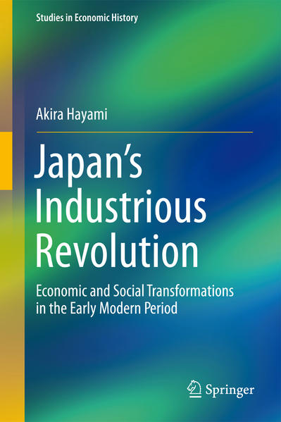 Japan's Industrious Revolution - Coverbild