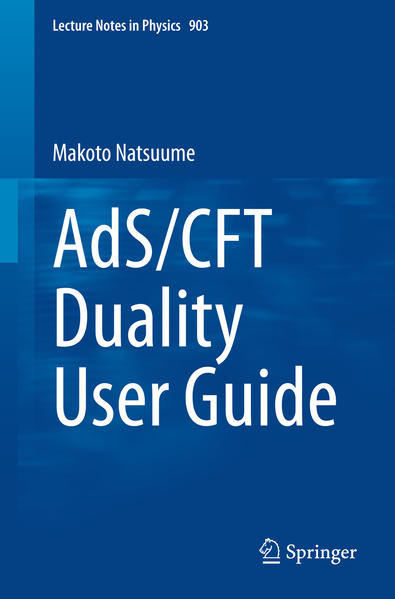 AdS/CFT Duality User Guide - Coverbild