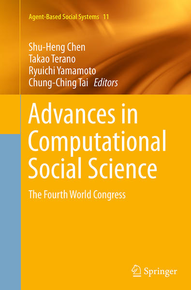 Advances in Computational Social Science - Coverbild