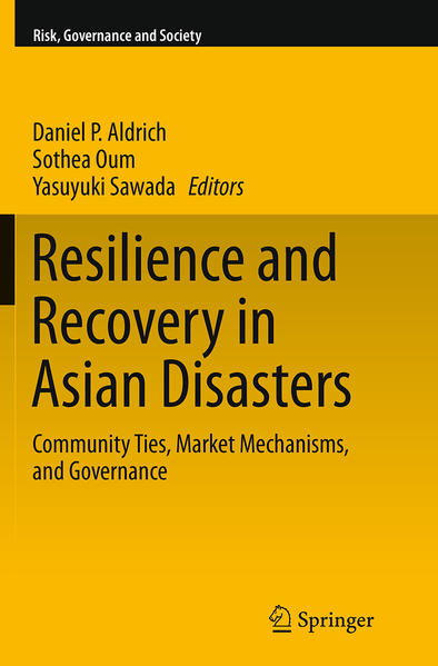 Resilience and Recovery in Asian Disasters - Coverbild