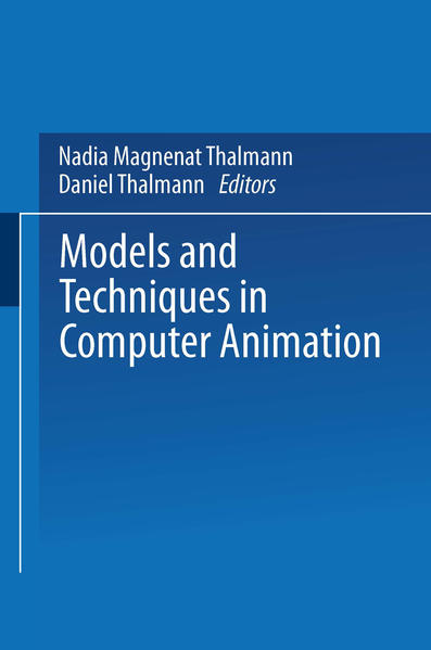 Models and Techniques in Computer Animation - Coverbild