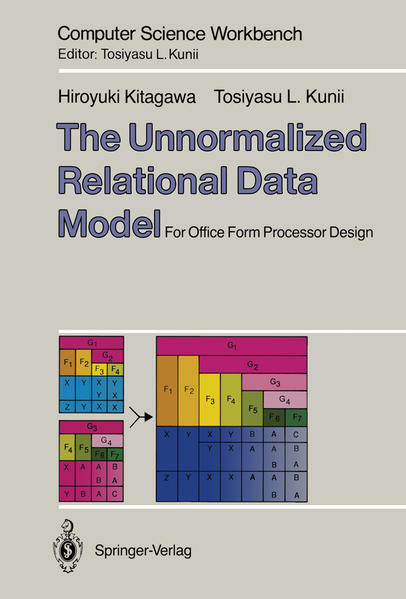 The Unnormalized Relational Data Model - Coverbild