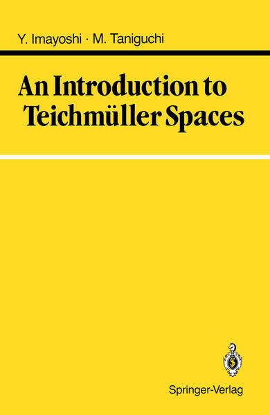 An Introduction to Teichmüller Spaces - Coverbild