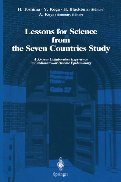 Lessons for Science from the Seven Countries Study - Coverbild