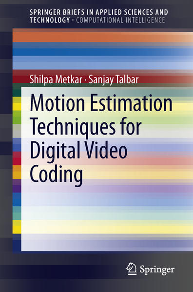 Motion Estimation Techniques for Digital Video Coding - Coverbild
