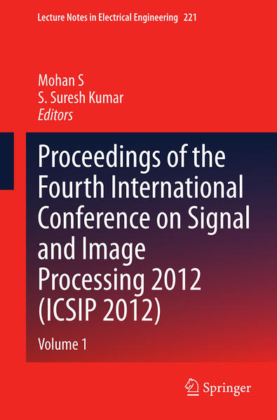 Proceedings of the Fourth International Conference on Signal and Image Processing 2012 (ICSIP 2012) - Coverbild