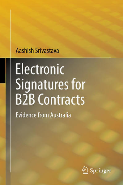 Electronic Signatures for B2B Contracts - Coverbild
