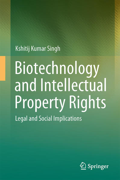 Biotechnology and Intellectual Property Rights - Coverbild