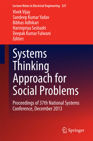 Systems Thinking Approach for Social Problems - Coverbild