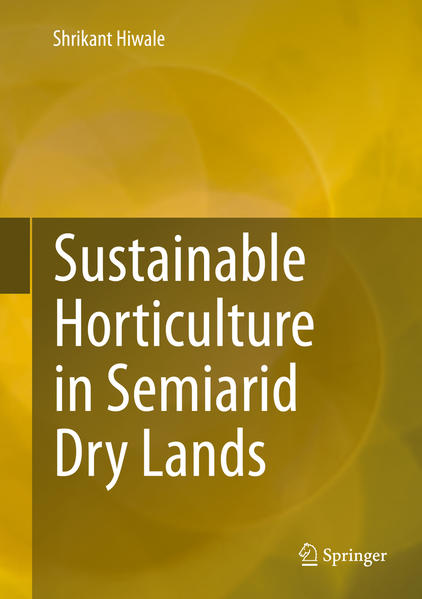 Sustainable Horticulture in Semiarid Dry Lands - Coverbild