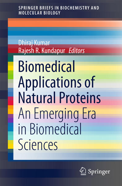 Biomedical Applications of Natural Proteins - Coverbild