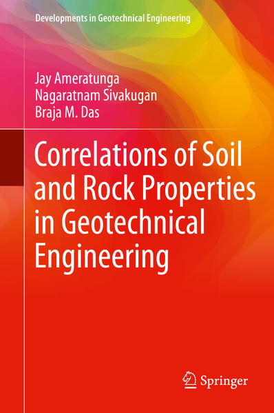 Correlations of Soil and Rock Properties in Geotechnical Engineering - Coverbild