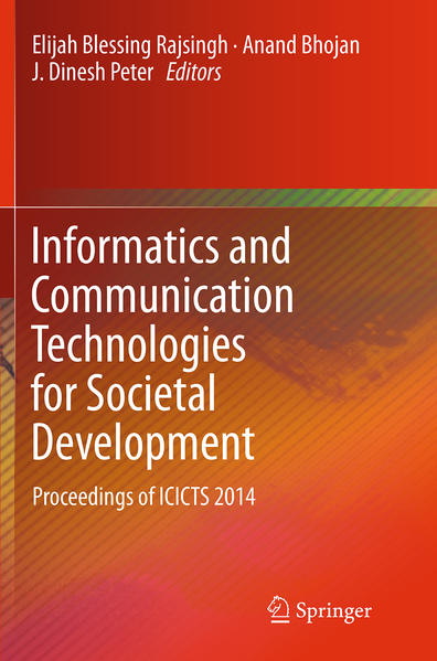 Informatics and Communication Technologies for Societal Development - Coverbild