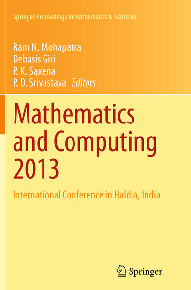 Mathematics and Computing 2013 - Coverbild