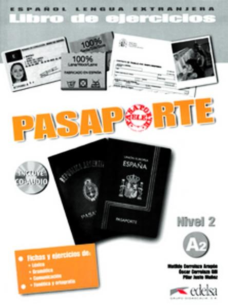 Pasaporte / A2 - Libro de ejercicios mit CD - Coverbild