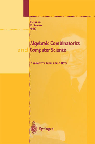 Algebraic Combinatorics and Computer Science - Coverbild