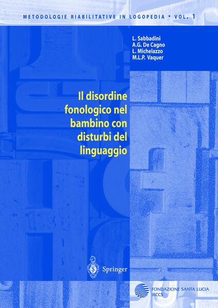 Il disordine fonologico nel bambino con disturbi del linguaggio - Coverbild