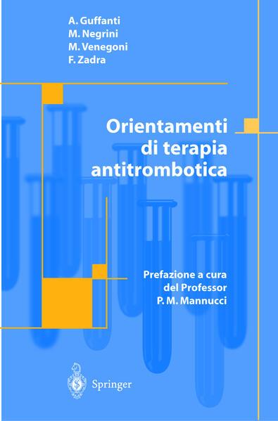 Orientamenti di terapia antitrombotica - Coverbild