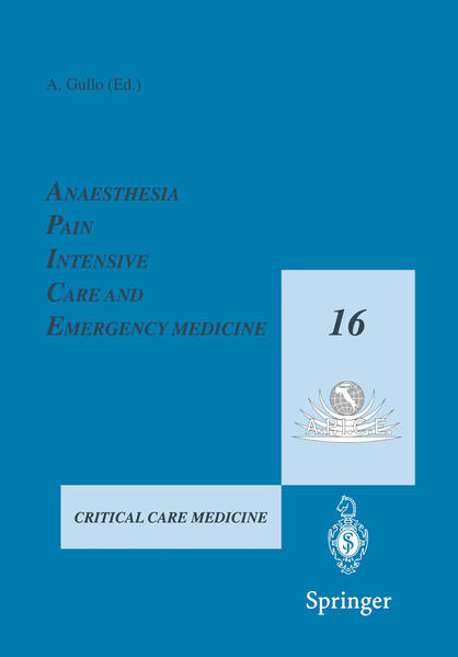 Anaesthesia, Pain, Intensive Care and Emergency Medicine — A.P.I.C.E. - Coverbild