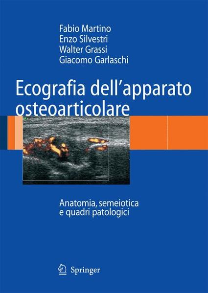 Ecografia dell'apparato osteoarticolare - Coverbild