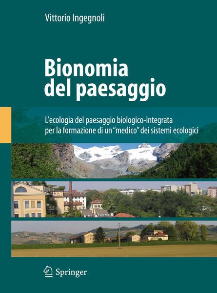 Bionomia del paesaggio - Coverbild