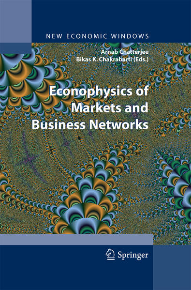 Econophysics of Markets and Business Networks - Coverbild