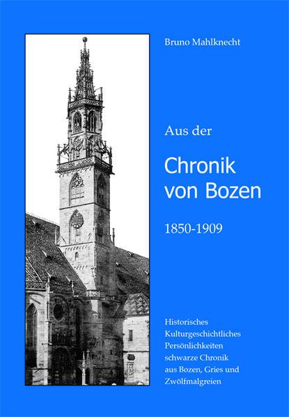 Chronik von Bozen 1850-1909 - Coverbild