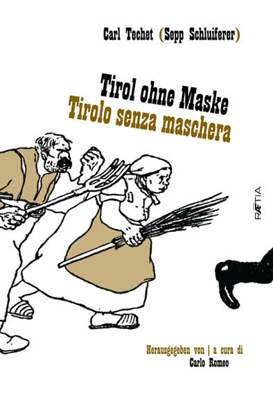 Tirol ohne Maske / Tirolo senza Maschera - Coverbild