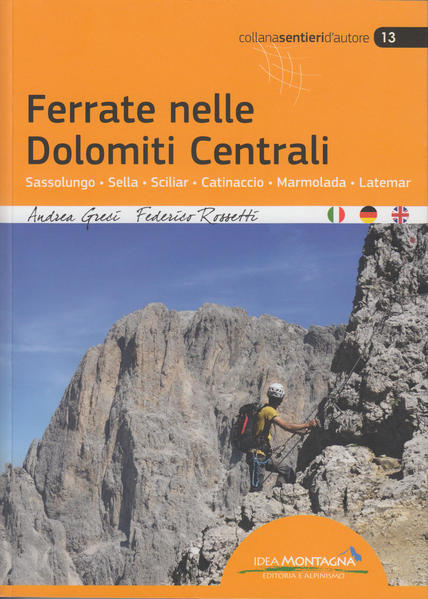 Ferrate nelle Dolomiti Centrali - Coverbild
