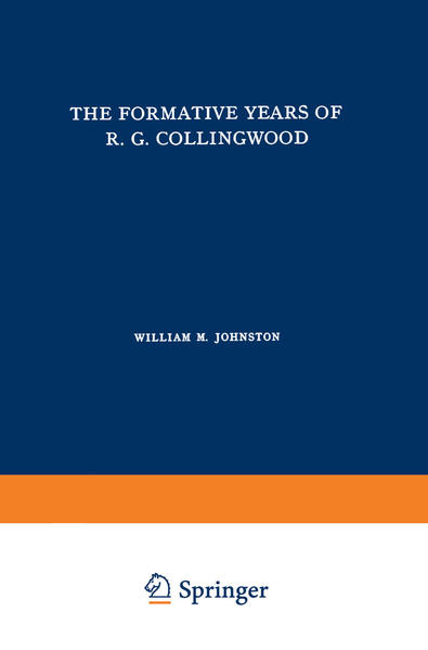 The Formative Years of R. G. Collingwood - Coverbild