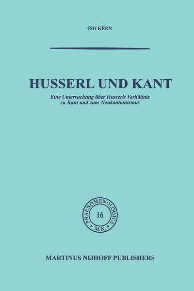 Husserl und Kant - Coverbild