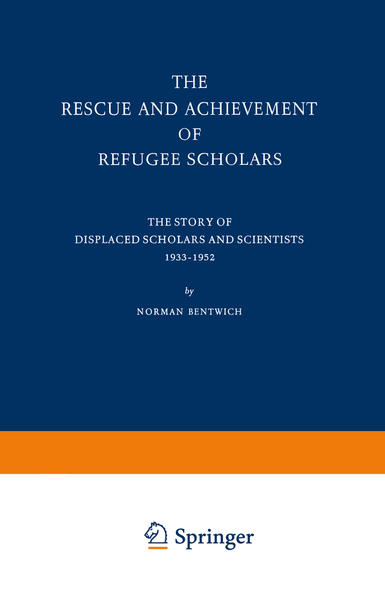 The Rescue and Achievement of Refugee Scholars - Coverbild