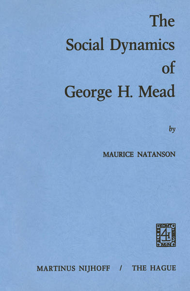 The Social Dynamics of George H. Mead - Coverbild