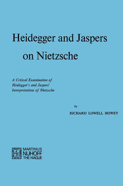 Heidegger and Jaspers on Nietzsche - Coverbild