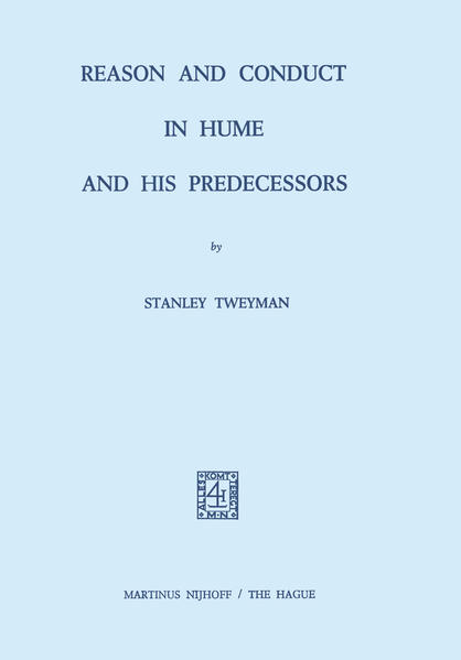 Reason and Conduct in Hume and his Predecessors - Coverbild