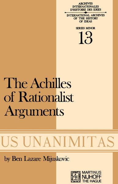 Achilles of Rationalist Arguments - Coverbild