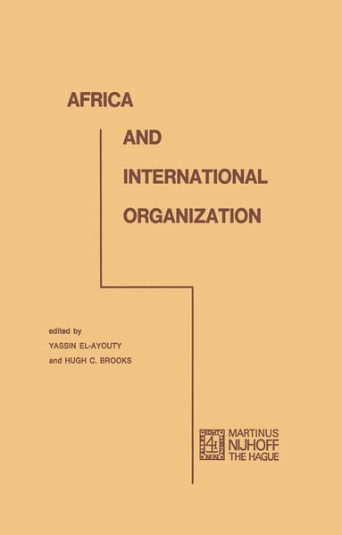 Africa and international organization - Coverbild