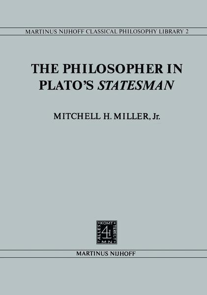 The Philosopher in Plato's Statesman - Coverbild