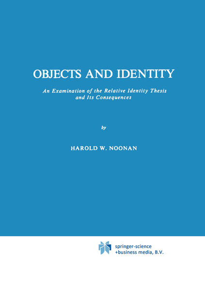 Objects and Identity - Coverbild