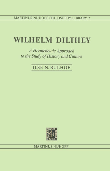 Wilhelm Dilthey - Coverbild