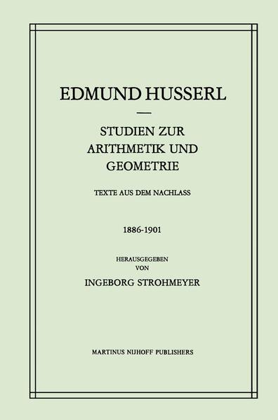 Studien zur Arithmetik und Geometrie - Coverbild