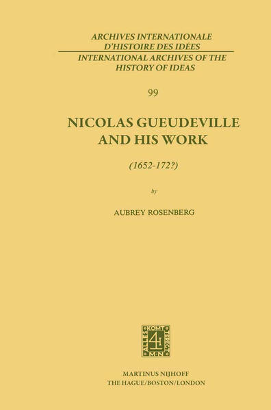 Nicolas Gueudeville and His Work (1652-172?) - Coverbild