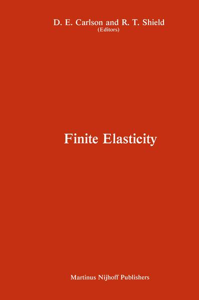 Proceedings of the IUTAM Symposium on Finite Elasticity - Coverbild