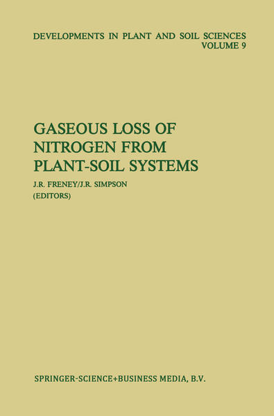 Gaseous Loss of Nitrogen from Plant-Soil Systems - Coverbild