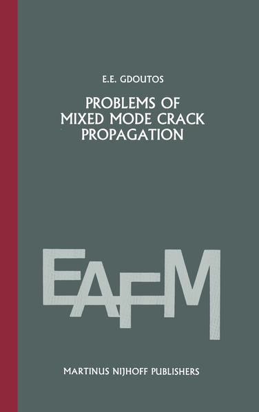 Problems of mixed mode crack propagation - Coverbild