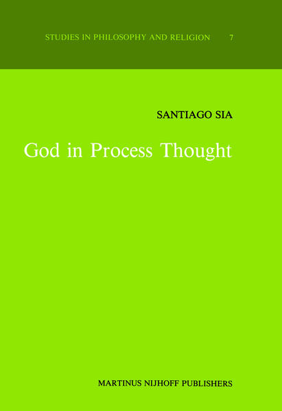God in Process Thought - Coverbild