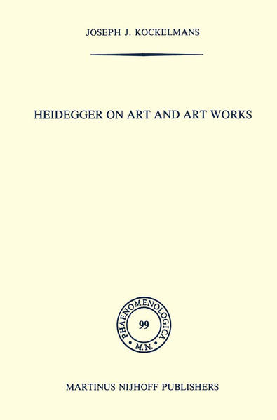 Heidegger on Art and Art Works - Coverbild