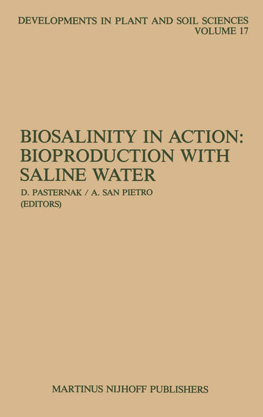 Biosalinity in Action: Bioproduction with Saline Water - Coverbild