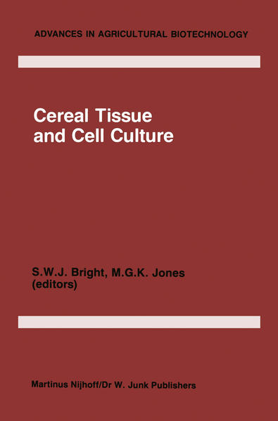 Cereal Tissue and Cell Culture - Coverbild