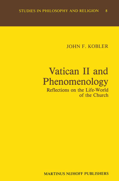 Vatican II and Phenomenology - Coverbild